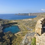 Lindos: The south bay