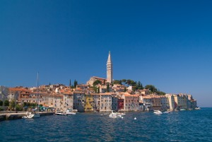 Rovinj: The old town and quay
