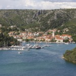 Skradin: The southern quays are a longer walk from the town
