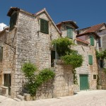 Stari Grad: Old buildings in the town back streets