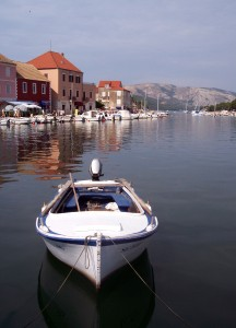 Stari Grad: The harbour from the head of the inlet