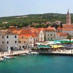 Supetar: The town with cafes on the harbour quay