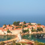 Sveti Stefan: The hotel on the island with beaches either side of the causeway