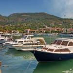 Tivat: The marina