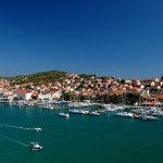 Trogir: The ACI marina is close to the old town and is popular with yachts