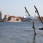 Umag: An interesting way to moor your fishing boat