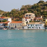 Vathi (Meganisi): The village and quay