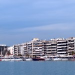 Volos: The yacht quay, panorama part 1