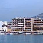 Volos: The yacht quay, panorama part 2