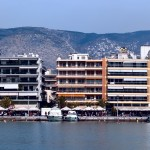 Volos: The yacht quay, panorama part 3