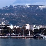 Volos: The yacht quay, panorama part 4