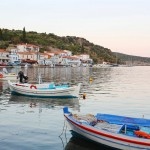Yerakas: The quayside and village