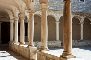 Zadar: Cloister of the Franciscan Monastery