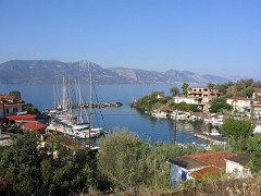 Vathi: The village and harbour