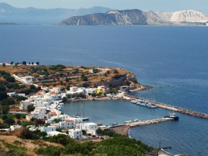 Nisyros: View over the harbour