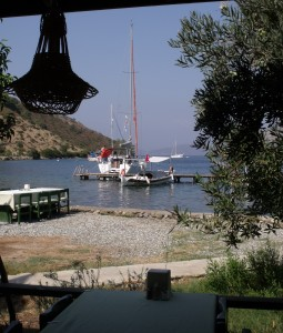 Sailor's Paradise: View from the restaurant