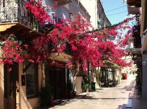 A Greek shopping arcane!
