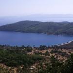 Akbuk Koyu: Aerial view over the bay looking south