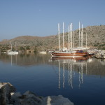 Bozburun: The anchorage just outside the harbour