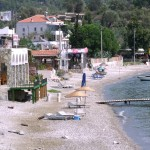 Cokertme: The beach with its restaurants