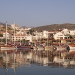 Datca: Boats on the quay