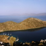Dirsek: View across the bay