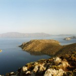 Dirsek: View across the bay up the Hisaronu Gulf