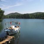Longoz, Turkey: Fishing boat