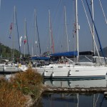 Orhaniye: Yachts ready for their next charter