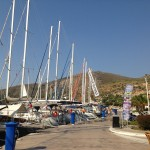 Datca: Yachts on the town quay