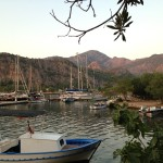 Orhaniye: All quiet after the flotillas have left