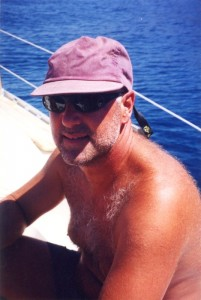 The strain of flotilla skippering turned me grey. Sadly the pay didn't stretch to a razor.