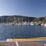 Poros: The marina (well there are a couple of quays)!