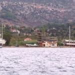 Sogut: Ship building near the village
