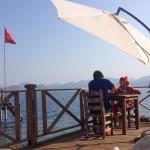 Asardibi Limani: A game on the terrace