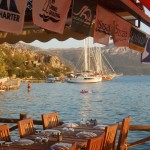 Sogut: Yacht quay from the restaurant