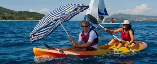 Nikiana Beach Club - alternative sail power