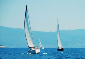 Yachts under sail - it could be you!