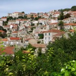 Lastovo Town: View of the town