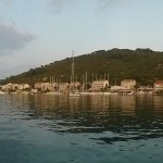 Polace: The town and yacht anchorage