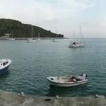 Saplunara: A popular spot for charter yachts