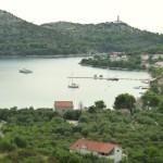 Skrivena Luka: Yachts on the quay