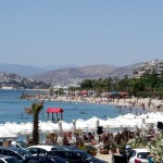Athens Kalamaki: The beach next to the marina