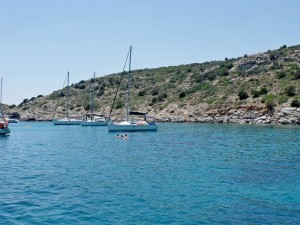 Tselevinia: A very pleasant anchorage