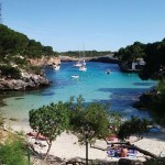 Cala Mitjana: Cala Mitjana: Not much space but a lovely spot