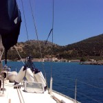Panormitis: Entering the bay
