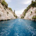 Corinth Canal: Nearly through