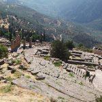 Delphi: The amphitheatre