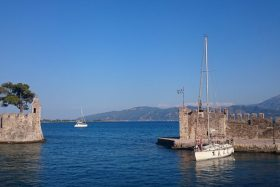 Nafpaktos: The small harbour
