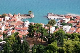Nafpktos: The town and harbour